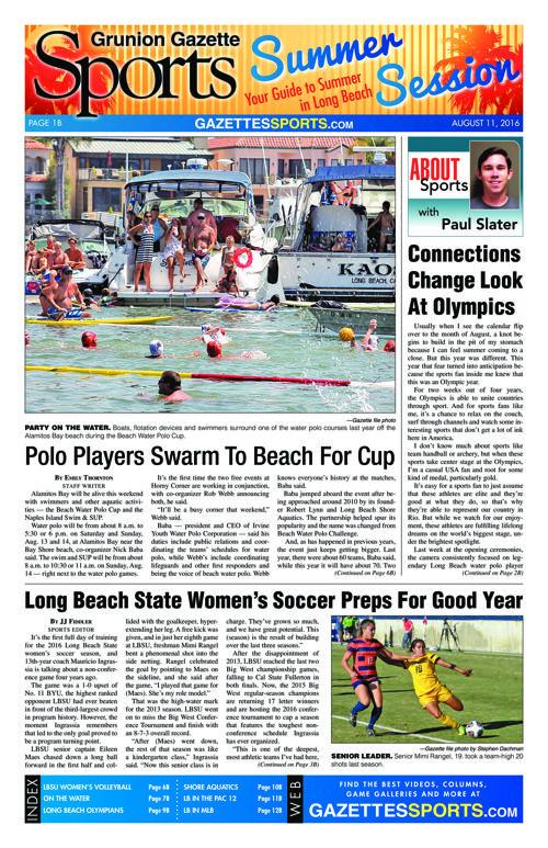 Gazette Sports | August 11, 2016