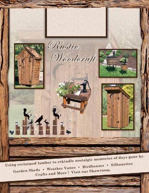 Rustic Woodcrafts