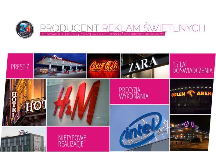 Oferta Reklama Świetlna - Dawid Pyka
