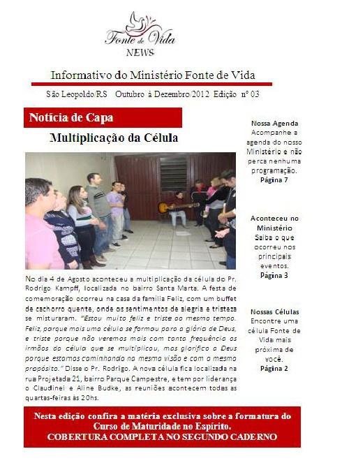 Informativo Outubro/2012
