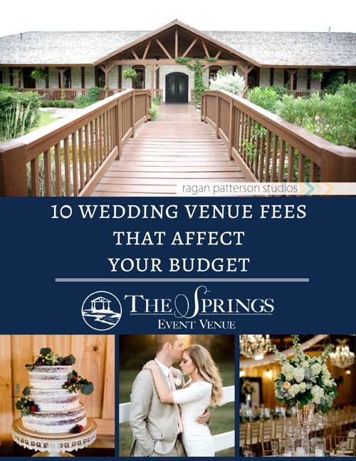 Hidden Wedding Venue Fees