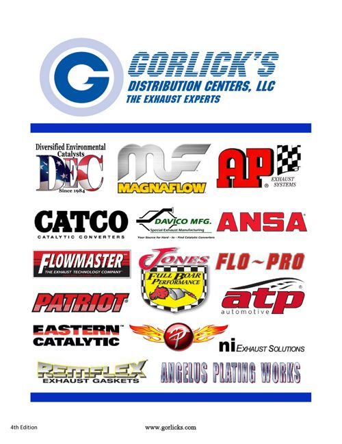 Gorlick Catalog 4th Edition