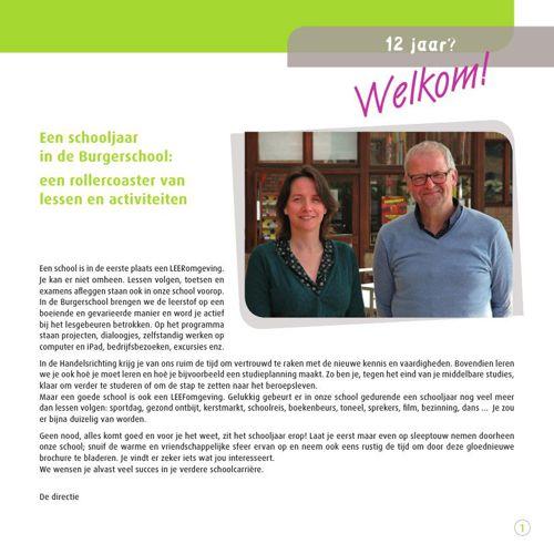 Brochure Burgerschool Roeselare