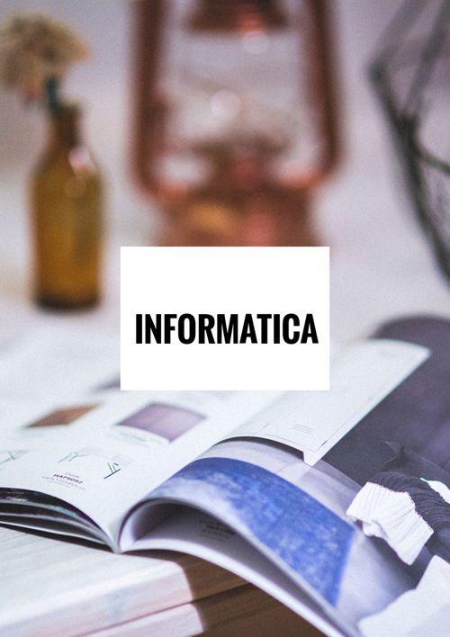 Informatica 3 Periodo