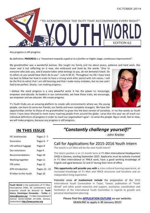 Youth World # 62 - 63