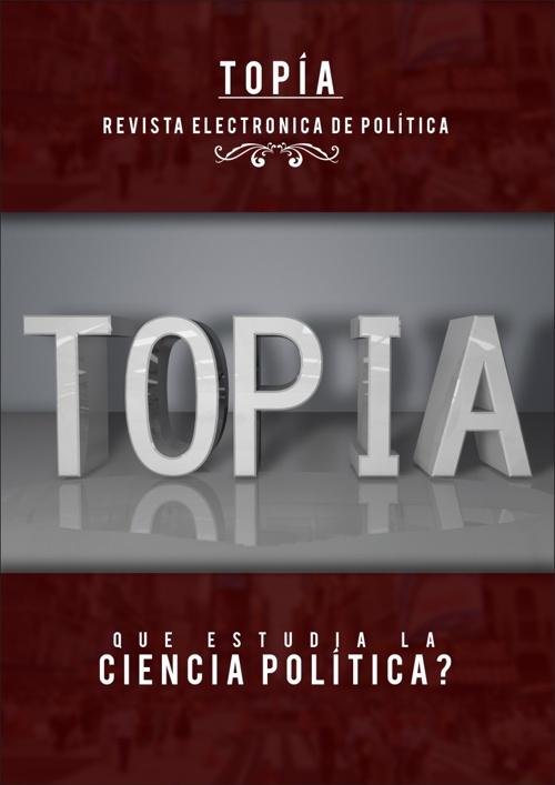 Revista Topía #0
