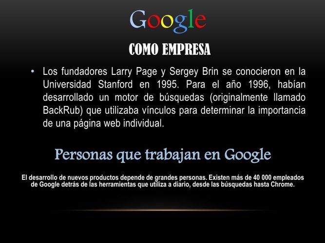 catalogo google Héctor