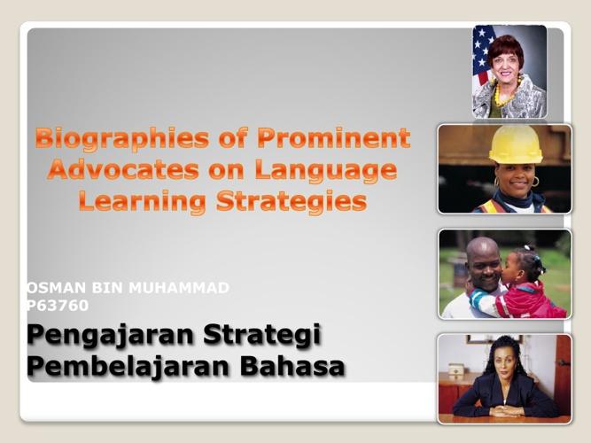 Pengajaran Strategi Pembelajaran Bahasa