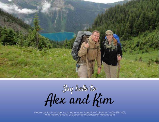 Alex and Kim's Adoptive Family Website