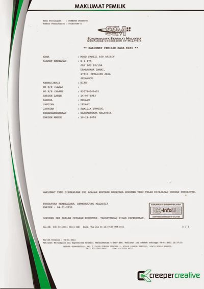 Page 12 - SSM Maklumat Pemilik