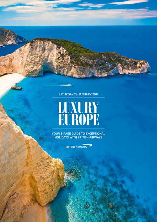 Luxury Europe - British Airways 28/01/17