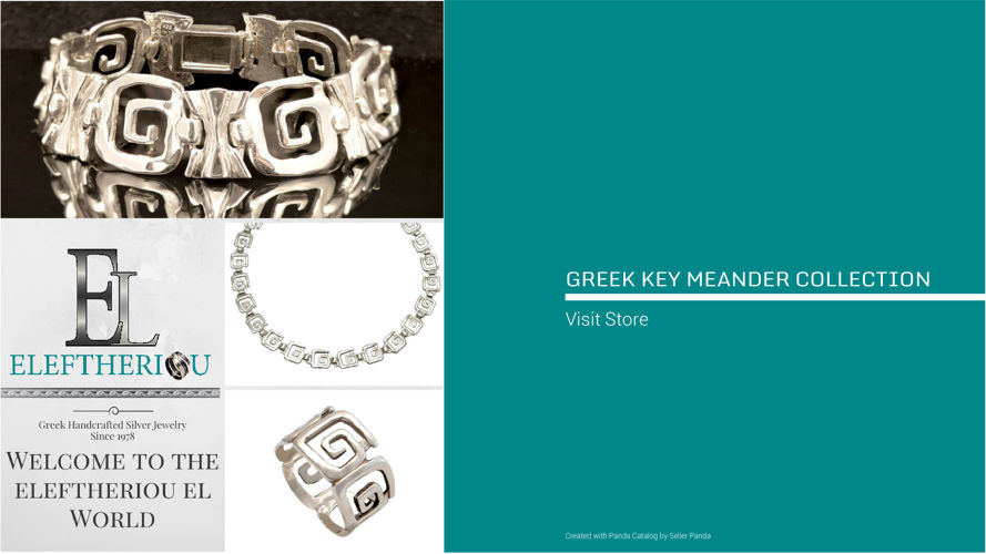Greek Key Meander Jewelry Collection 2016