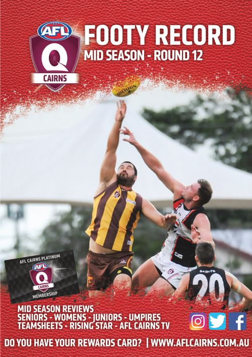 AFL Cairns Mid Season Footy Record - Round 12