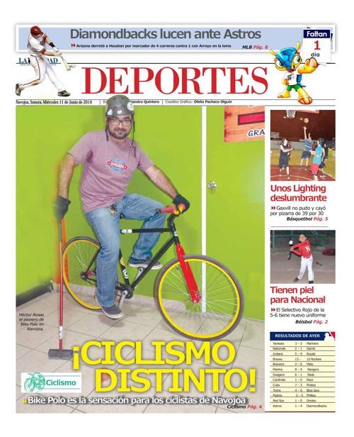 DEPORTES 11 de junio 2014