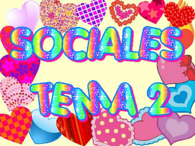 SOCIALES TEMA 2