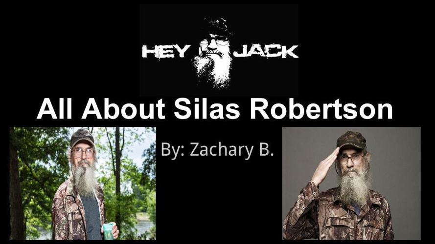 All About Silas Robertson (1)