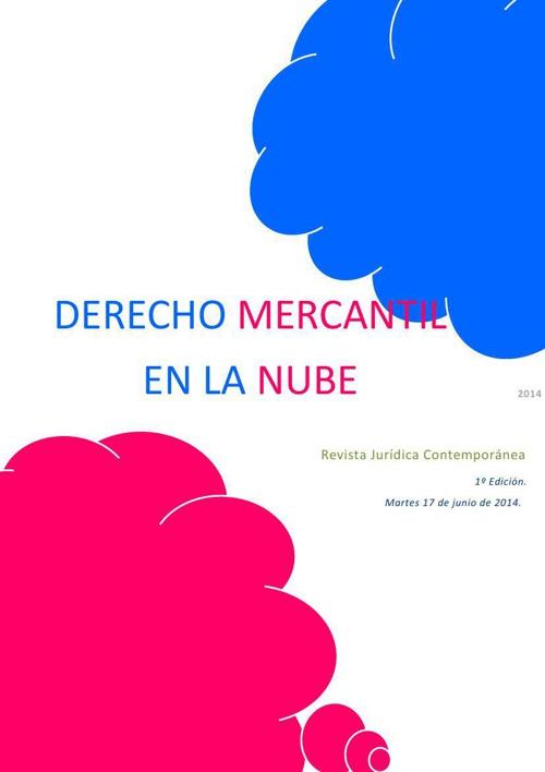 Derecho Mercantil En La Nube