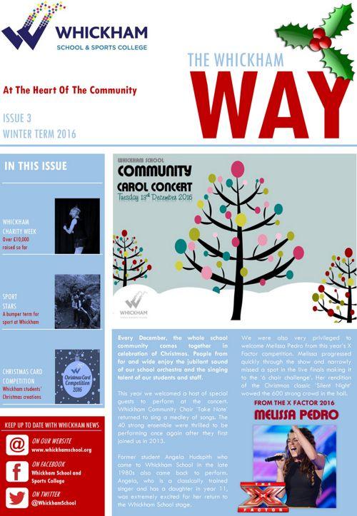 Whickham Way Newsletter Winter 2016