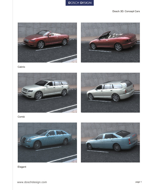 26_DOSCH 3D - Concept Cars