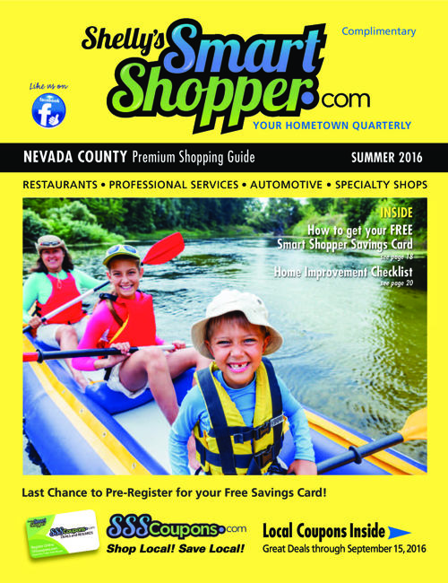 Shelly's Smart Shopper Nevada County Summer 2016