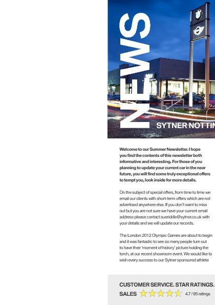 Sytner Nottingham BMW Newsletter