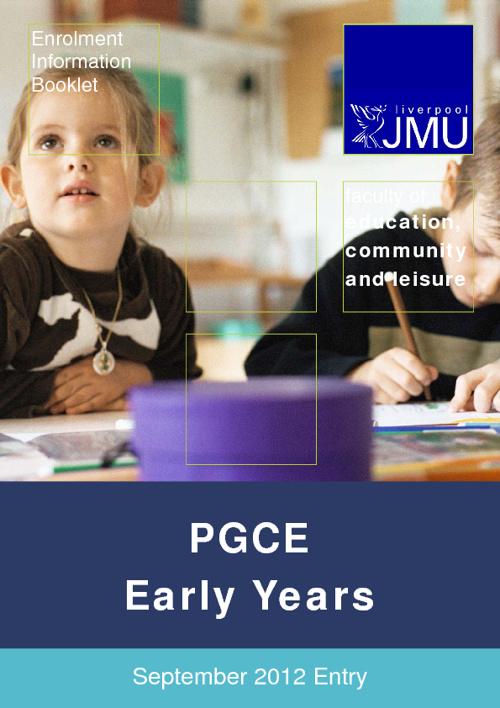 PGCE Early Years