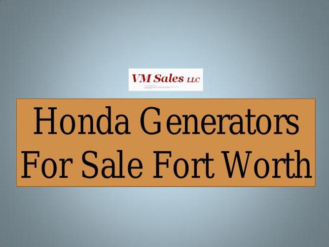 Honda Generators For Sale Fort Worth