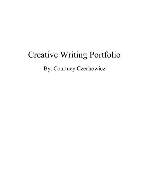 Creative Writing Portfolio (real)
