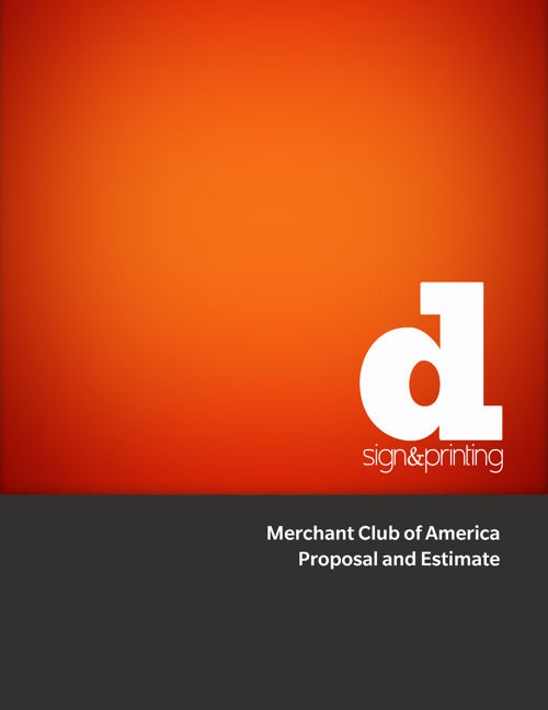 DS&P Client Proposal - Merchant Club of America
