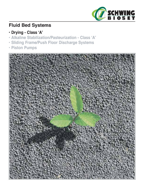 Fluid Bed Systems - Drying Class 'A'