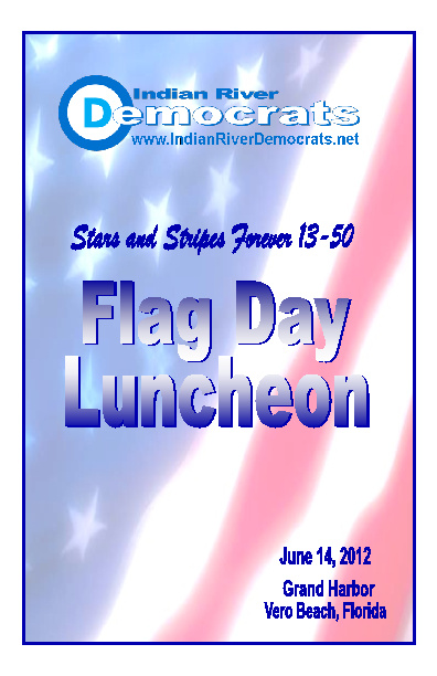 2012 Flag Day Program