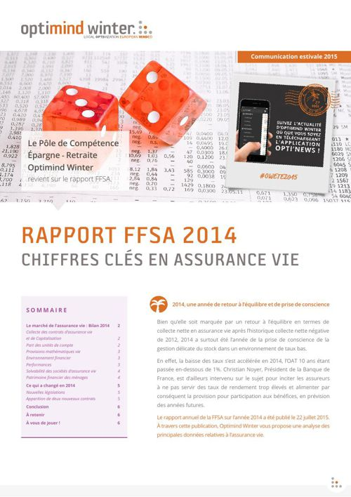 Optimind Winter - PCOW // Rapport FFSA 2014
