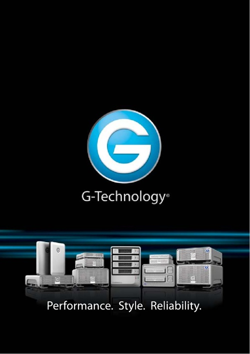 G-Technology Products Catalogue 2013