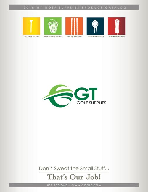 GT Golf Supplies - 2018 Product Catalog