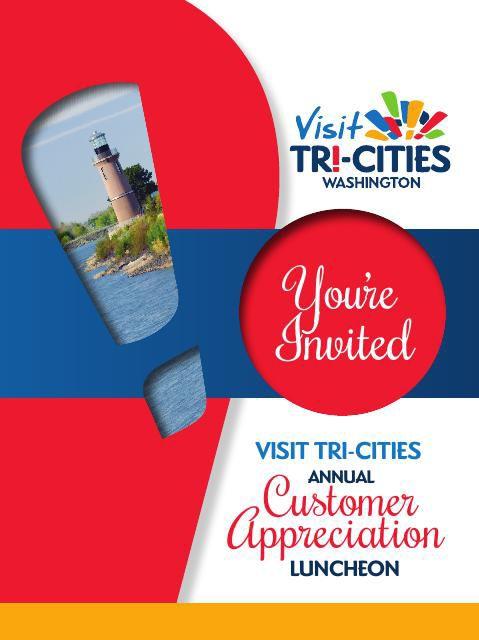 Tri-Cities Customer Appreciation Luncheon Invitation