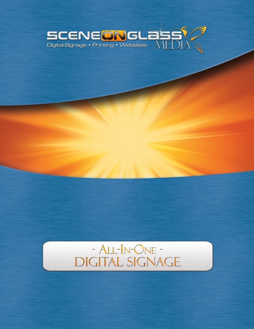 Digital Signage flipbook