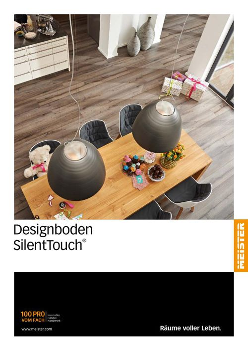 MEISTER Designboden Katalog DD300 SilentTouch DE