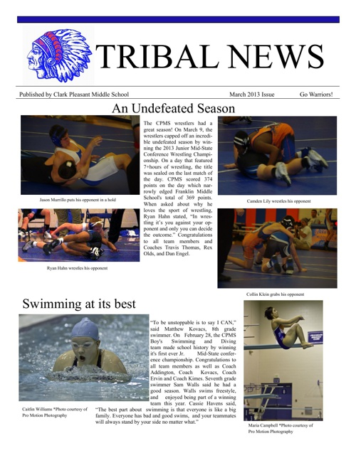 April Tribal Newspaper