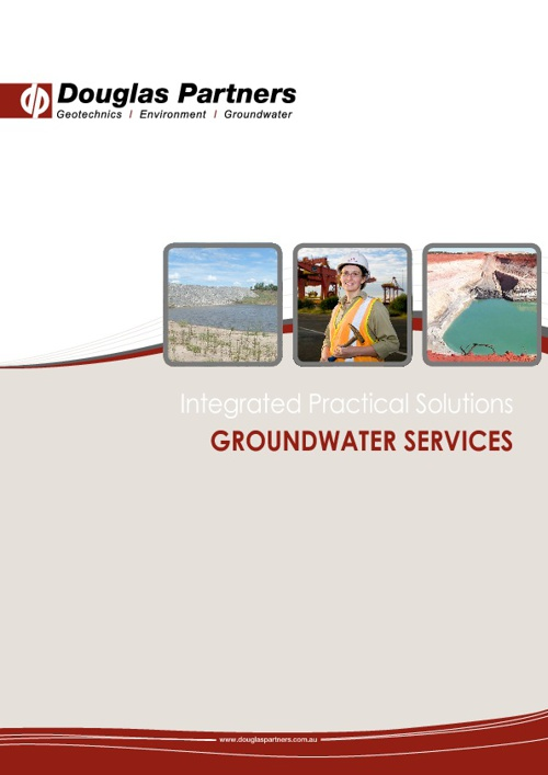 Douglas Partners Groundwater Services