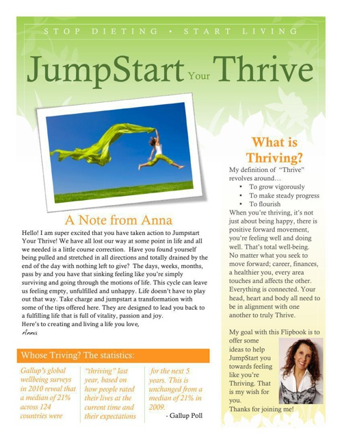 Jumpstart Thrive