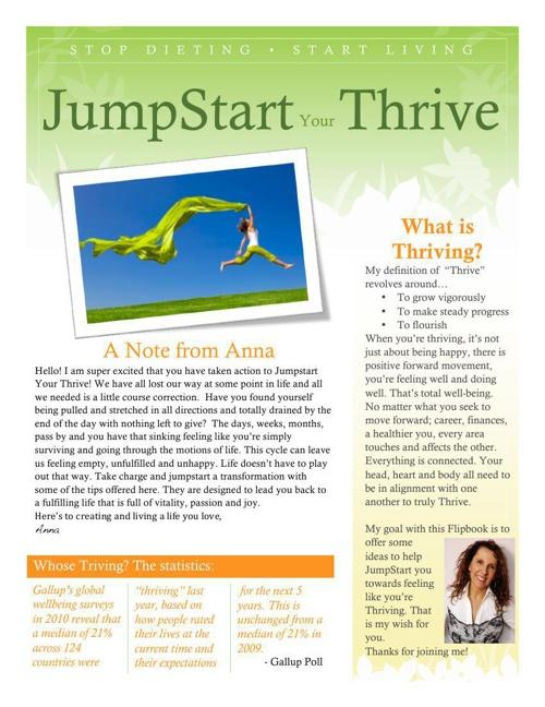 Jumpstart Thrive