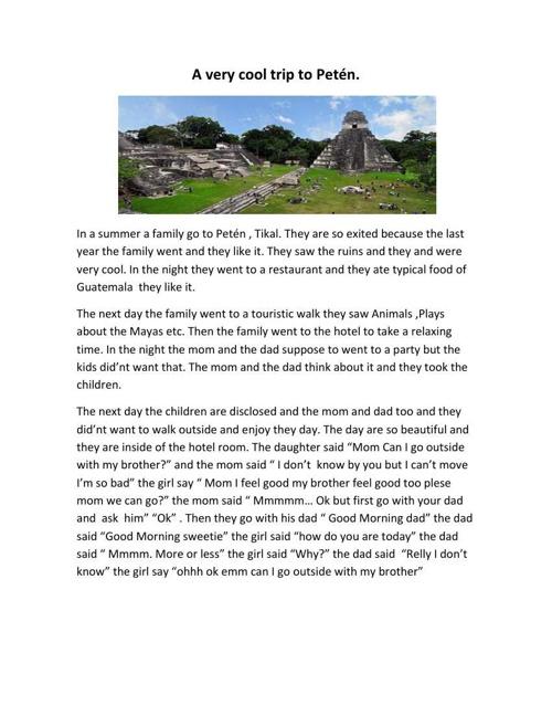 Grammar story