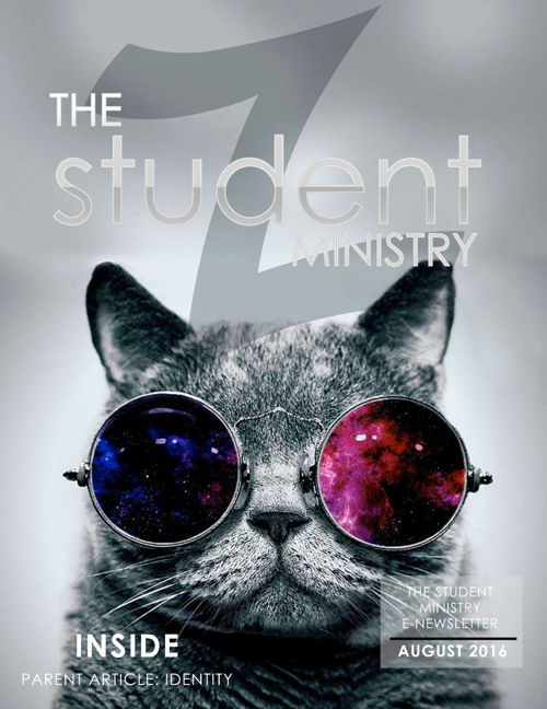 The Student Ministry Parent eNews Aug2016