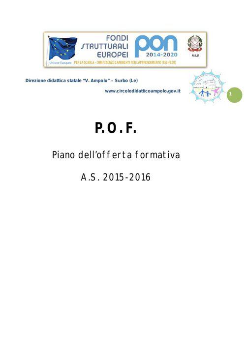 POF 2015-16 Prima parte