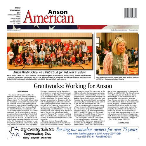 Anson - Vol 8 Issue 31