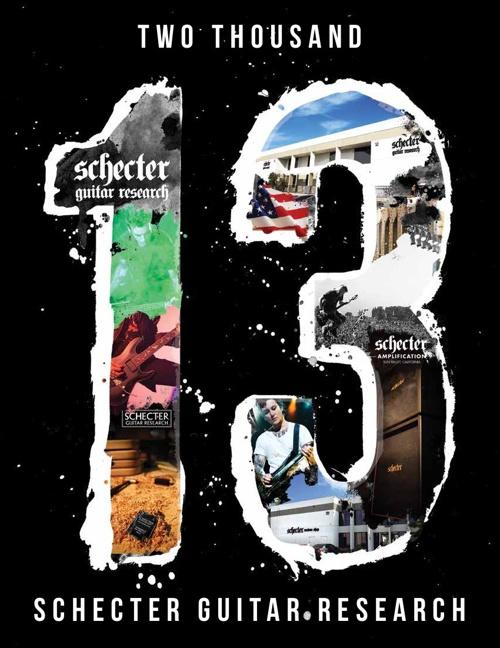 2013 SCHECTER CATALOG