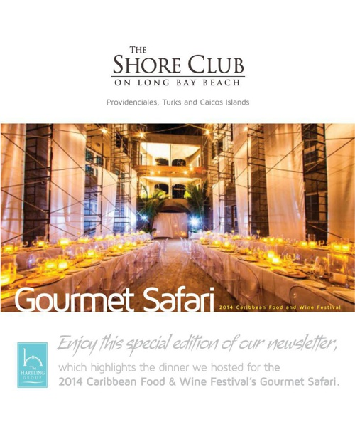 November 2014 Edition | The Shore Club on Long Bay Newsletter