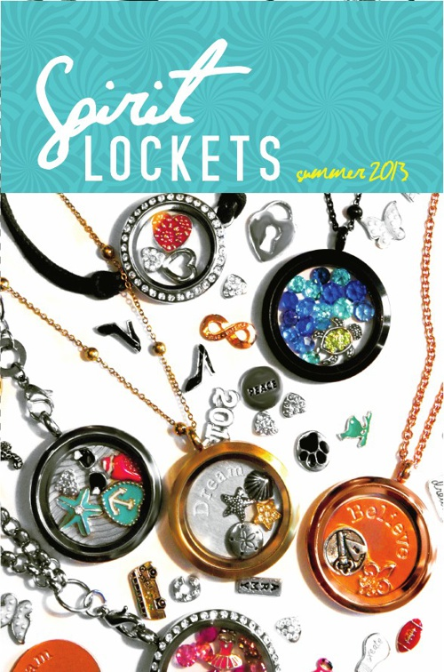 Spirit Lockets Summer Catalog 2013