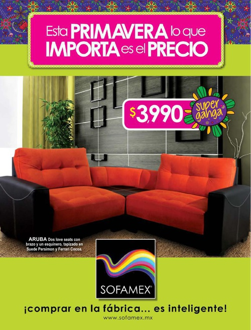 CATALOGO SOFAMEX PRIMAVERA 2014