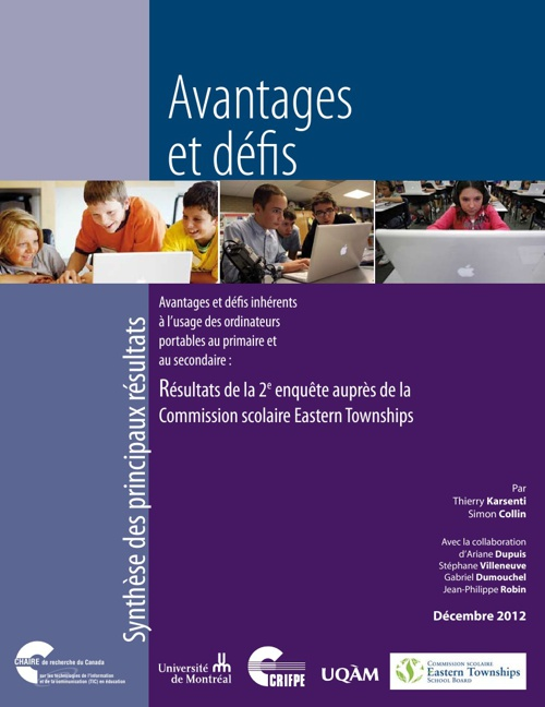 etsb.crifpe.ca - Le rapport synthèse